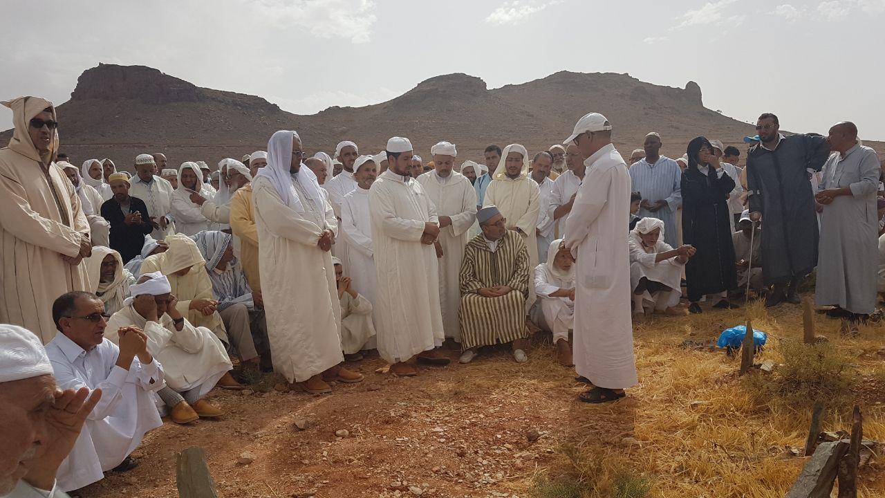 تعزية المبتغي نعي العلامة سيدي صالح الإلغي . بقلم الدكتور الحسين أكروم