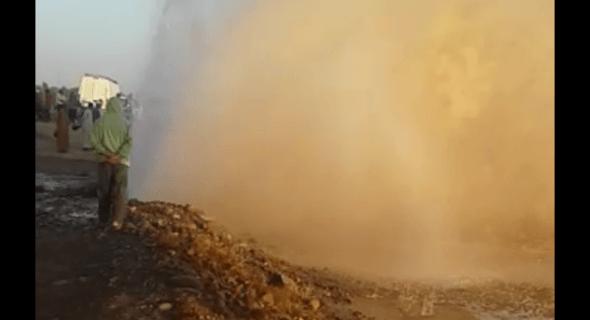 بالفيديو: الكارثة التي تسببت في عطش اكادير الكبير