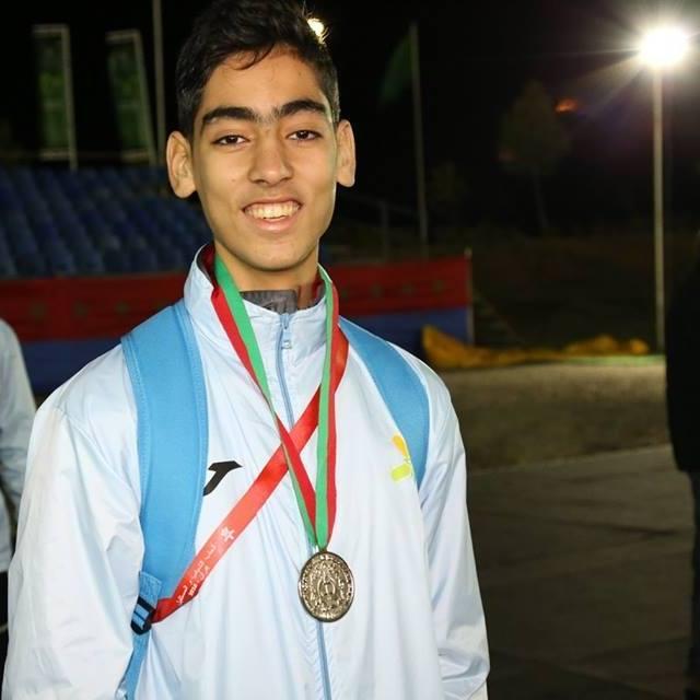 محمد اشلحان من نادي أمل تيزنيت في المنتخب الوطني لكرة اليد فئة الناشئين