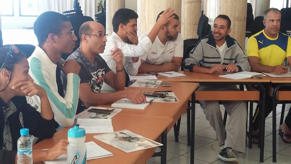 امل تيزنيت للدراجات في دورة تكوينية للحكام الجهويين بمدينة اسفي