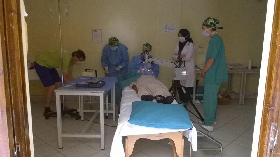 جمعية باني وشركاؤها في قافلة طبية لصحة العيون والأسنان