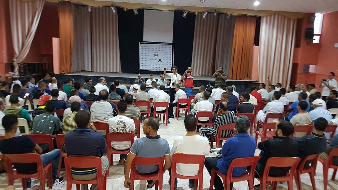تشكيل لجنة مؤقتة لتلقي طلبات الترشيح لرئاسة أمل تيزنيت لكرة القدم وتحديد موعد الجمع العام