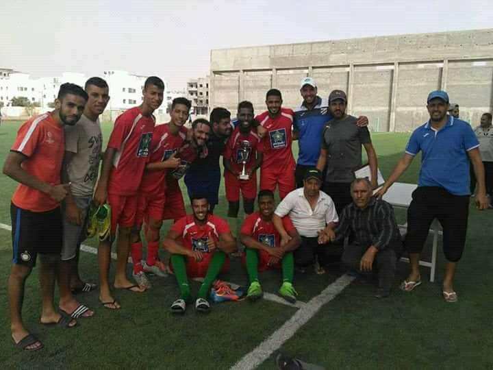 أمل تيزنيت لكرة القدم يفوز بدوري لكرة القدم بأكادير