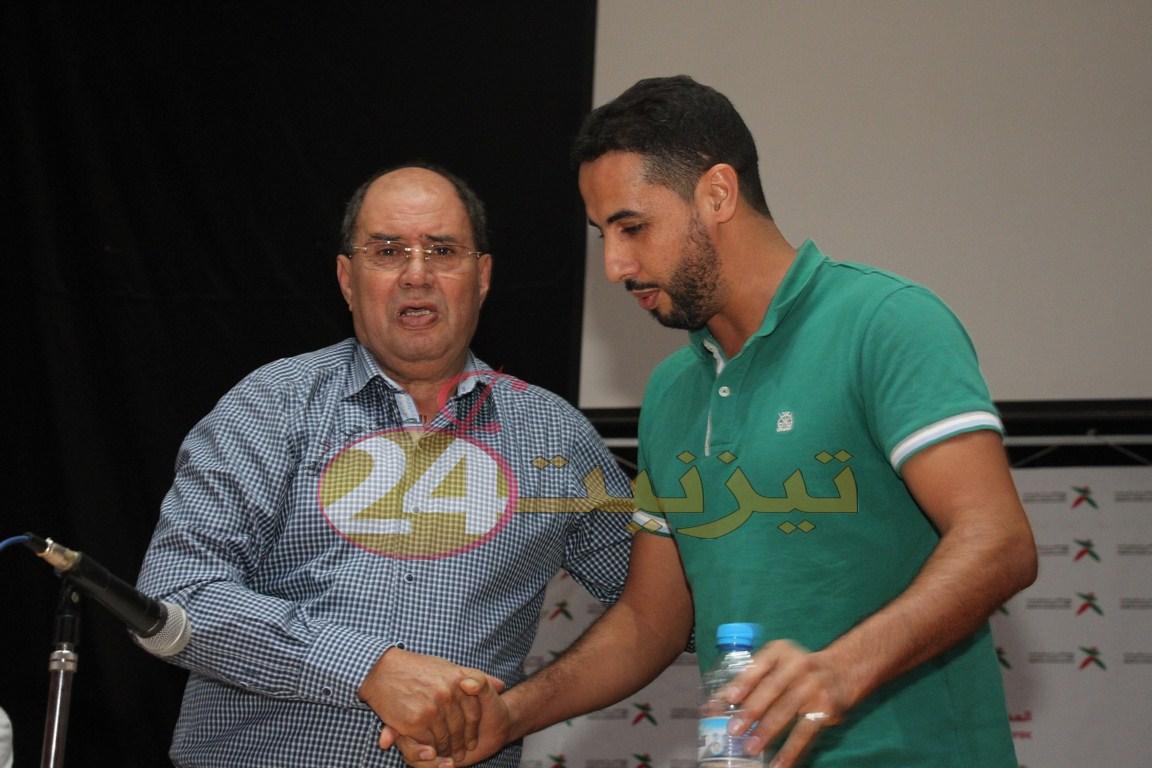 عبد المولى أرخاوي رئيسا لفريق أمل تيزنيت في جمع عام ثاني لمنخرطين بالفريق