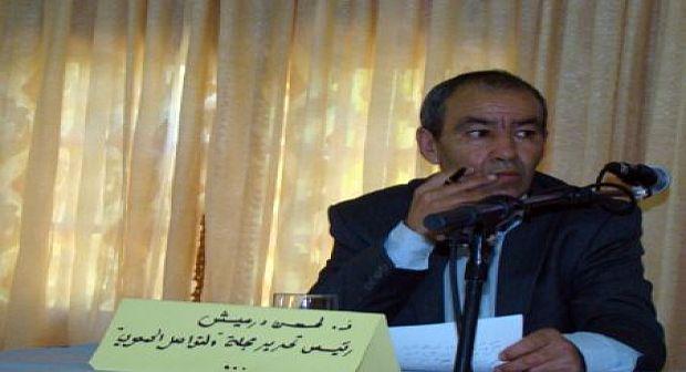 وفاة الحسن درميش الصحفي و الفاعل الجمعوي بتافراوت