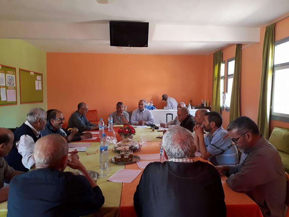 تجديد مكتب الفرع المحلي لإقليم تيزنيت للجمعية الوطنية لمديرات و مديري الثانويات العمومية بالمغرب