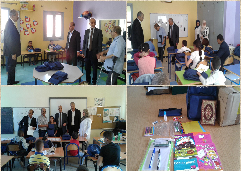 إعطاء الانطلاقة الرسمية لبرامج التربية غير النظامية بالمديرية الإقليمية بتيزنيت
