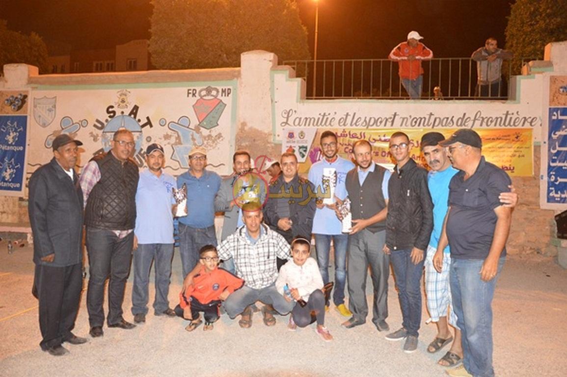 """ثلاثية """" أبران """"من نادي لوطية طانطان تتوج بلقب الدوري الوطني للكرة الحديدية بتيزنيت"""