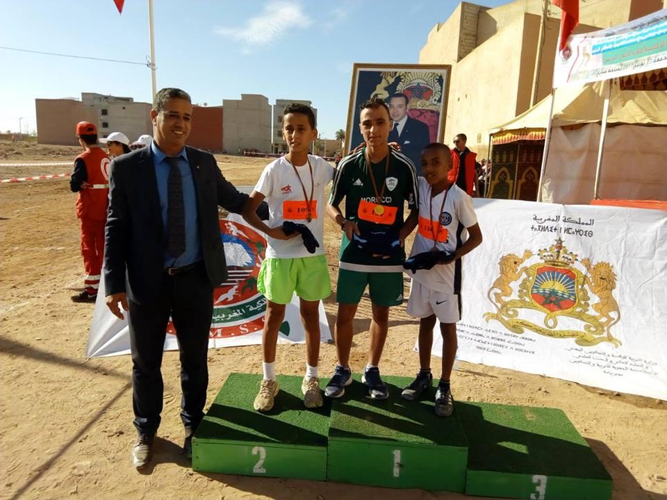 بالصور : البطولة الإقليمية للعدو الريفي المدرسي بتيزنيت