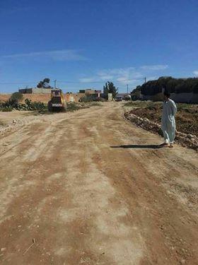 انطلاق أشغال اصلاح الطريق القروية الرابطة بين دوار بن حمان وجماعة احد الركادة أولاد جرار