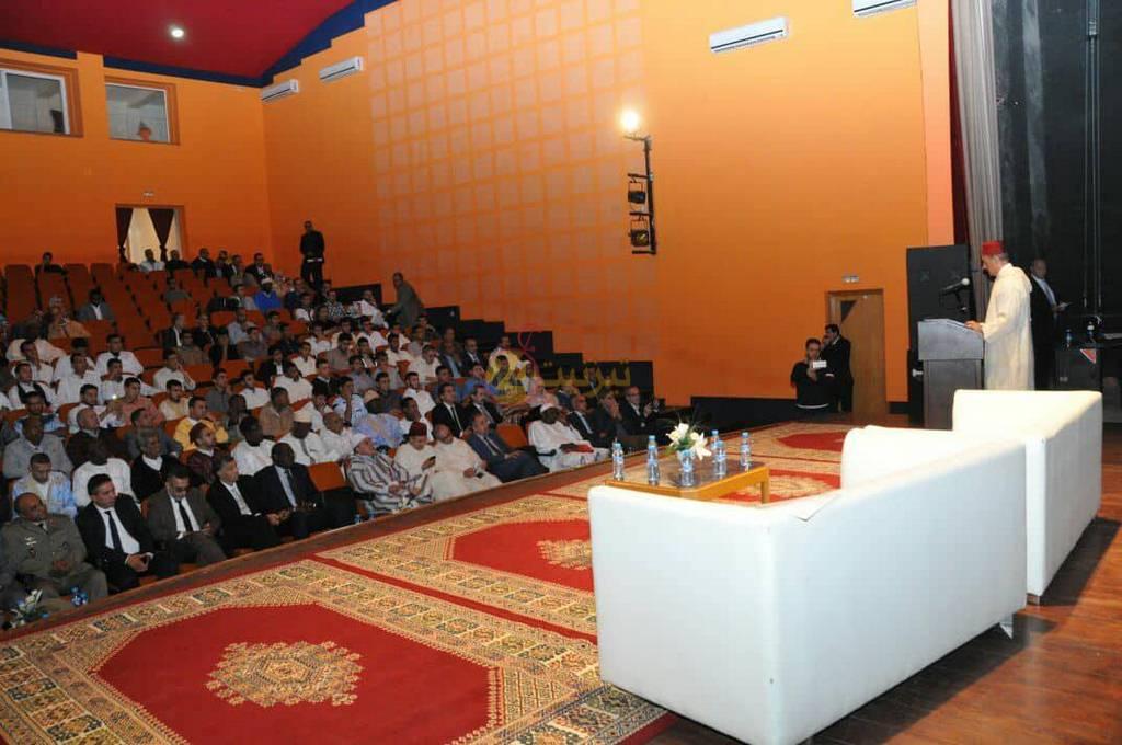 صور افتتاح ملتقى تيزنيت الدولي الخامس للثقافات الافريقية