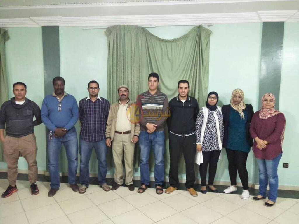 احمد اندالعرف رئيسا جديدا لجمعية حي ايراك للتنمية و التضامن