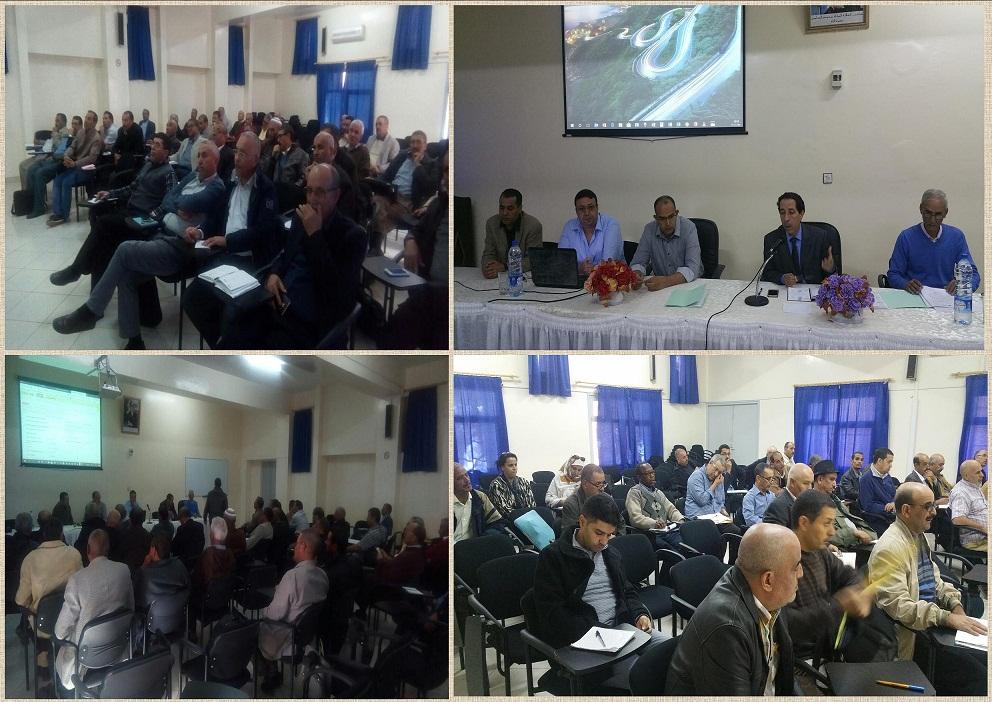 لقاءات تنسيقية وتكوينية حول العمل بمنظومة ESISE-RH   الخاصة بالموارد البشرية بمديرية تيزنيت