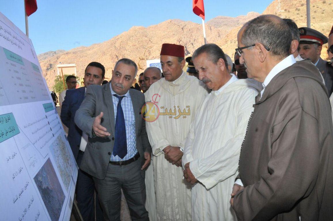 عامل اقليم تيزنيت يشرف على انشطة بجماعة أملن دائرة تافراوت