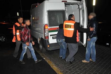 """""""القرقوبي"""" يقود إلى اعتقال شخصين بإنزكان"""