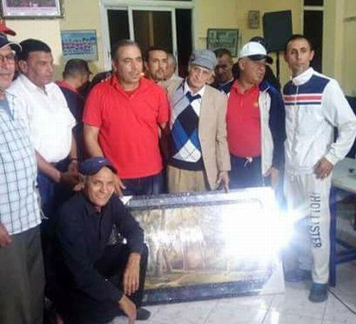 تكريم سليل تيزنيت الفنان الحسين بيزكارن المؤسس الفعلي للنادي الرياضي لأيت ملول