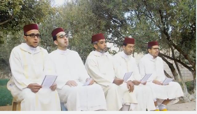 بالفيديو : وصلة لمجموعة السلام التيزنيتية في المديح والسماع