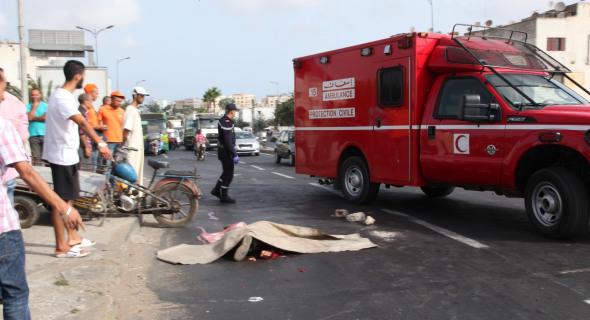 ماسة : مصرع عون سلطة إثر اصطدام دراجته بشاحنة