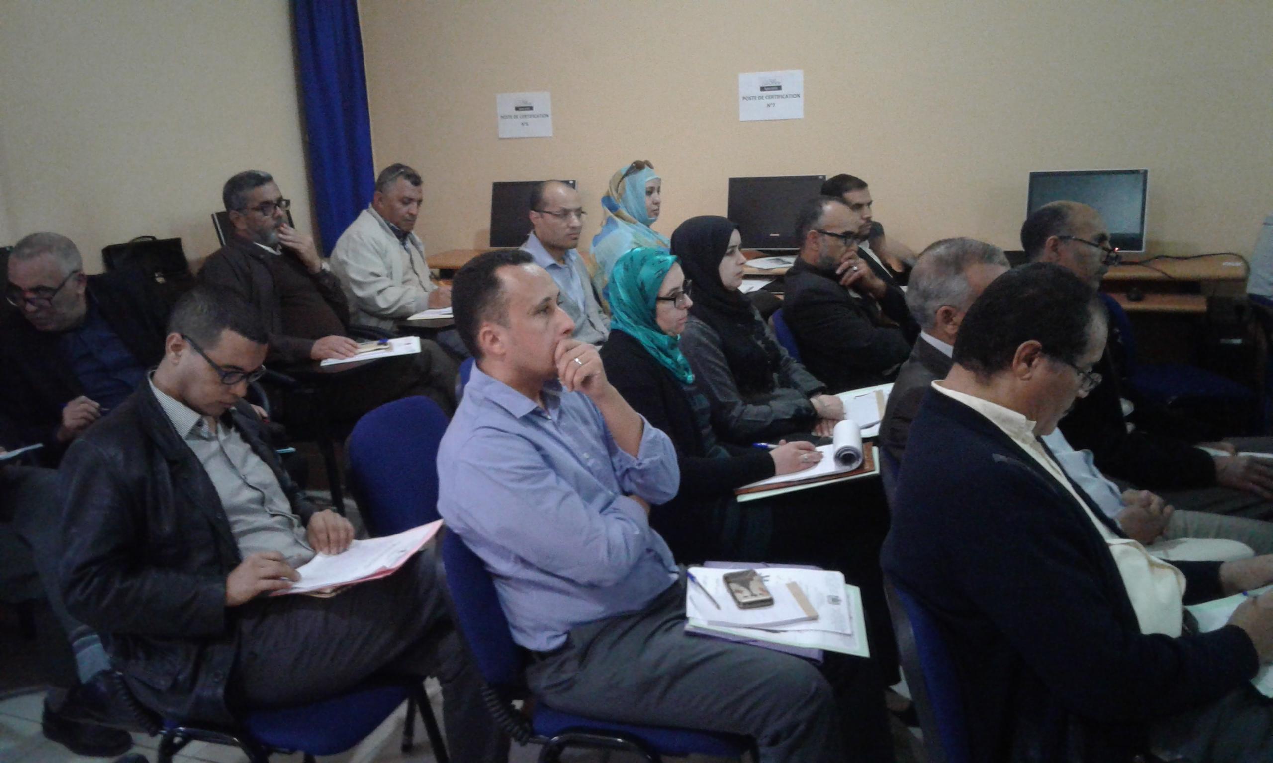 تنظيم اللقاء الإقليمي الثاني حول المصاحبة والتكوين عبر الممارسة  في إطار المشروع المندمج رقم 8 بمديرية تيزنيت