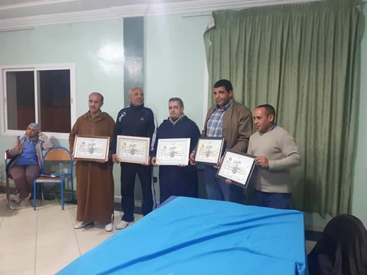 بالصور : اجتماع جمعية حكام كرة القدم باقليم تيزنيت