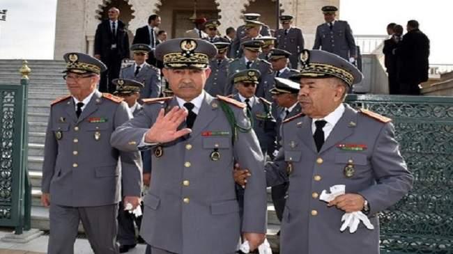 الجنرال الوراق يشرف على تغييرات هامة في مصالح الجيش بالصحراء
