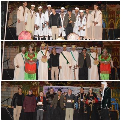 ازولا تخلد رأس السنة الامازيغية و تكرم فنانين أمازيغ بالمناسبة