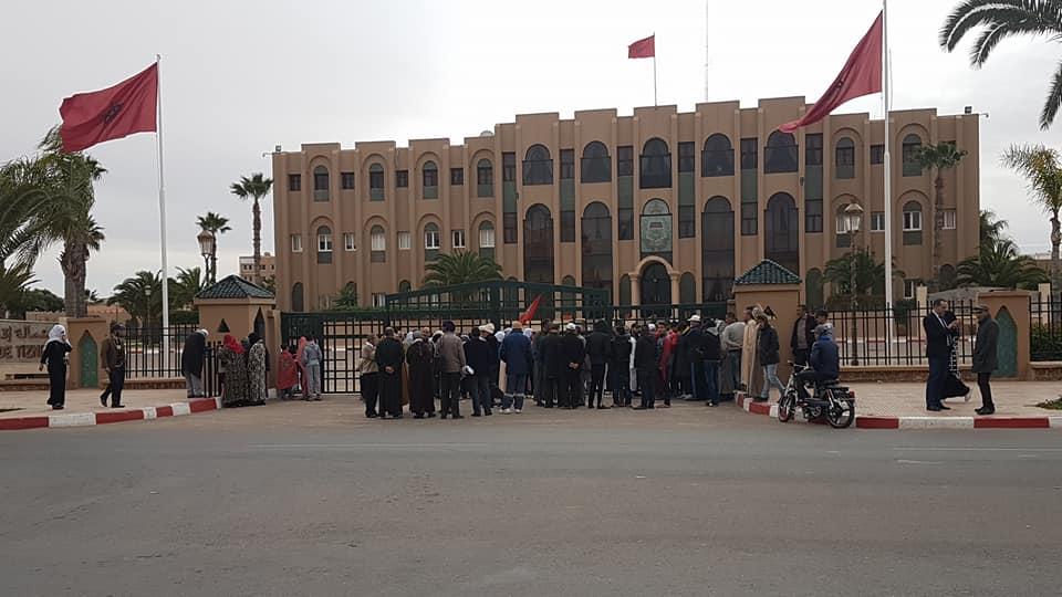 """مطالب اجتماعية تخرج ساكنة """"دوار العسكر"""" بتيزنيت للاحتجاج"""