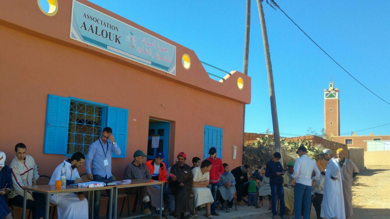 أگلو: انطلاق النسخة الثانية لدعم الغاز في دوار أعلوك