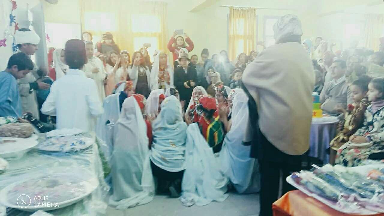 الثانوية الإعدادية إبن ماجة تحتفل اليوم بحلول السنة الأمازيغية الجديدة 2968
