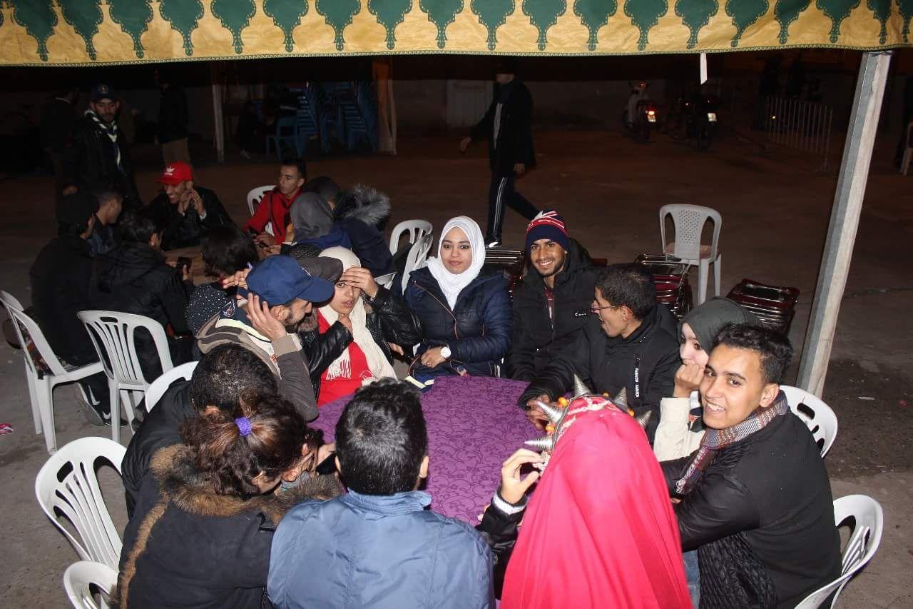 الاحتفال براس السنة الامازيغية في حي ايراك