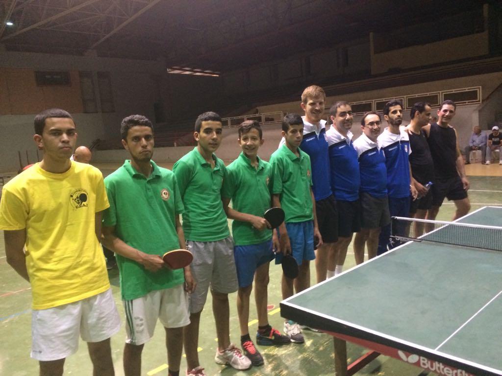 نادي أمل تيزنيت لكرة الطاولة يشارك في افتتاح منافسات بطولة القسم الثاني