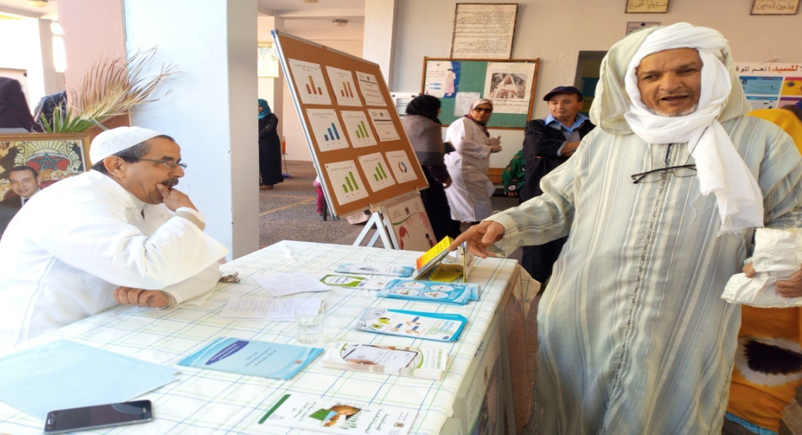 بالصور من تيزنيت : الأبواب المفتوحة بالمركز الصحي الحضري ذو المستوى الأول عبدالله الشفشاوني