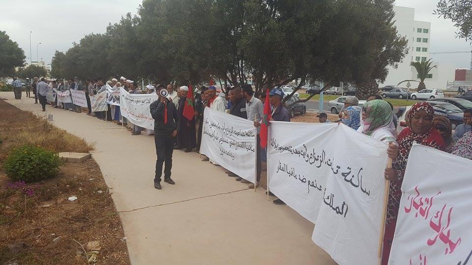 بيان لتنسيقية ضحايا مافيا العقار بأقاليم تيزنيت كلميم و سيدي إفني