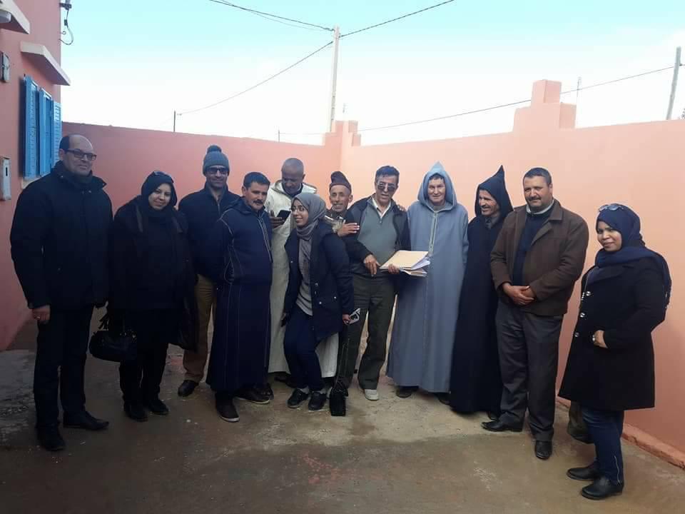 بيان أعضاء اغلبيةمجلس جماعة الركادة أولادجرار
