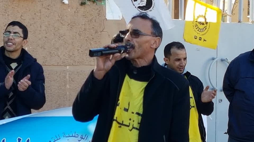 أحمد الطالبي : هناك من يشوش علينا في العمل النقابي.. و اننا هنا صامدون