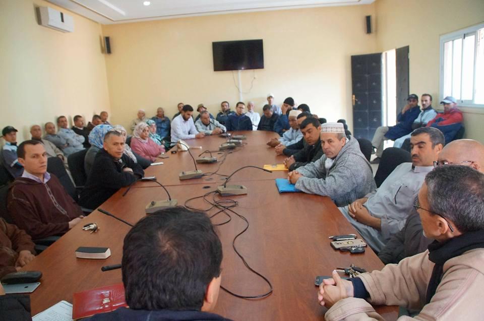 أعضاء جماعة أربعاء رسموكة يهددون بالاستقالة الجماعية ( بلاغ )
