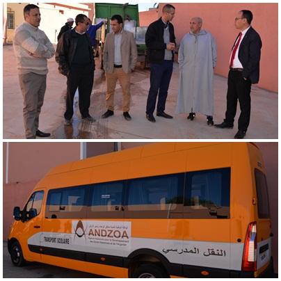 رسموكة : جمعية إمازالن تتسلم حافلة للنقل المدرسي من جماعة أربعاء رسموكة