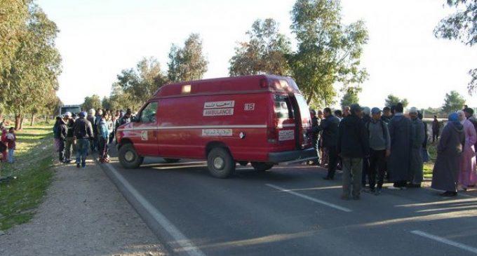 مصرع شخصين في حادثة سير بين تيزنيت و اولاد جرار