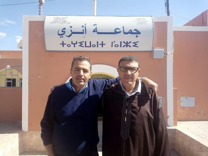 انتخاب بوجمعة بني رئيسا للمجلس الجماعي لانزي