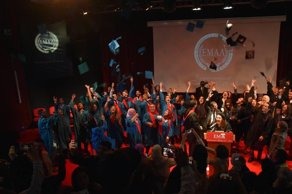 أكادير تحتضن حفل تخرج الفوج السابع لطلبة مدرسة EMAA