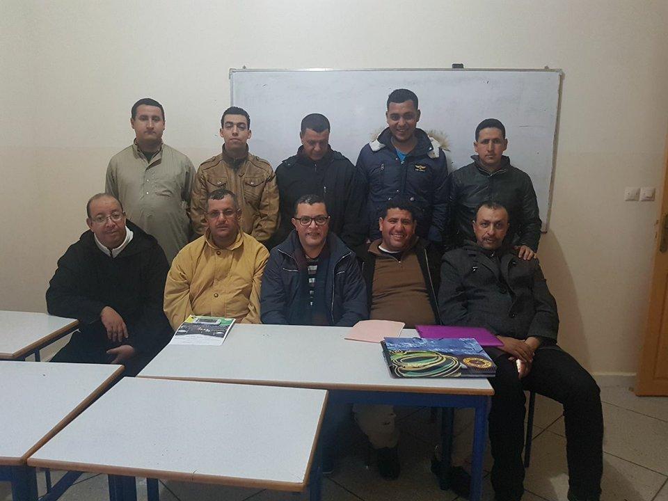 تجديد الثقة في عبد الله بنحادر رئيسا لجمعية أنصار ومحبي أمل تيزنيت