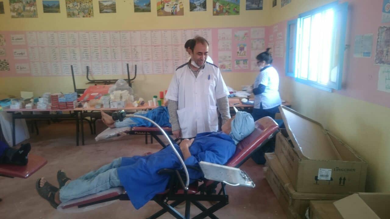 حملة طبية للفم و الأسنان تشمل 100 شخص بجماعة ميراللفت