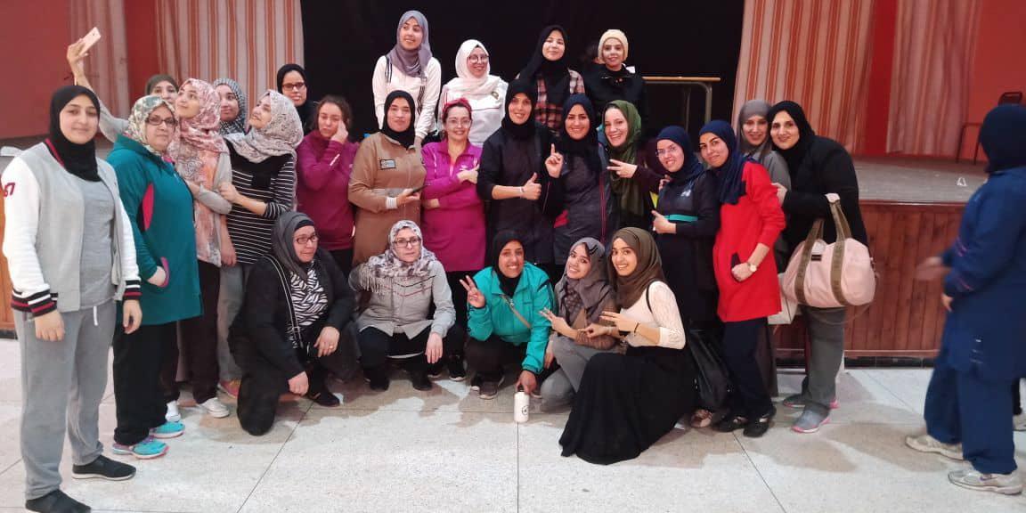جمعية الاتحاد الرياضي أمل تيزنيت لبناء الجسم و الأيروبيك تحتفي بالمرأة