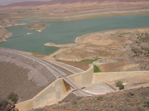 ارتفاع حقينة سد يوسف بن تاشفين الى 24 في المائة