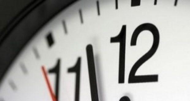 إضافة ستين دقيقة إلى الساعة القانونية بعد غد الأحد