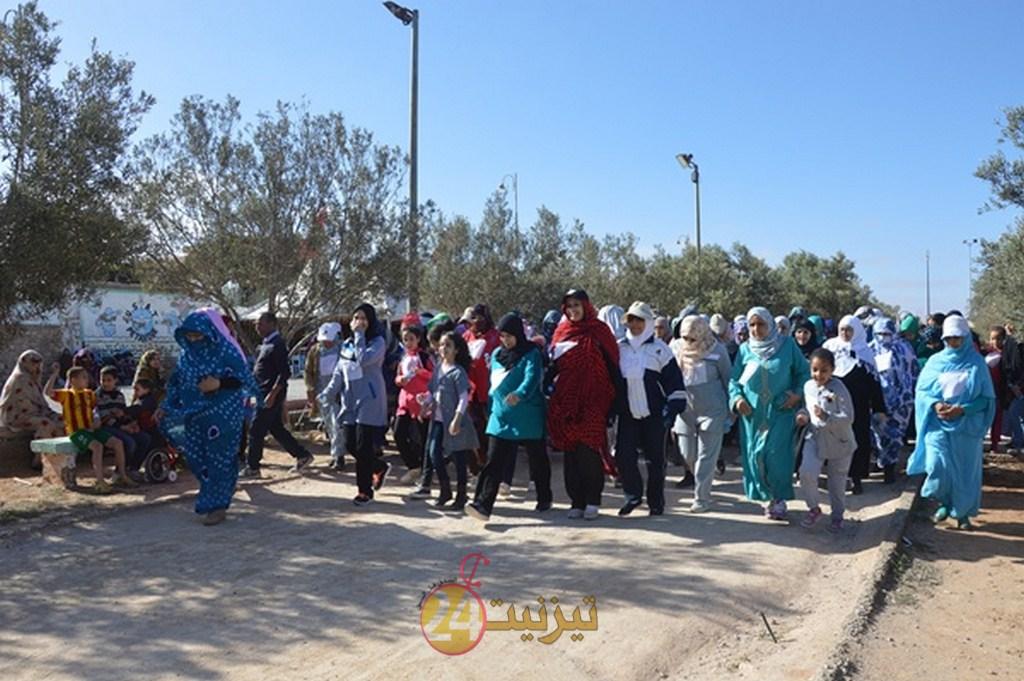بالصور : الطواف الشعبي النسوي لجمعية تافركانت و المرس