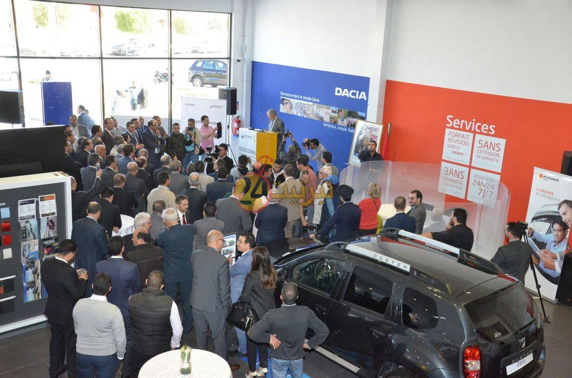 بالصور و الفيديو : افتتاح وكالة لتوزيع السيارات بتيزنيت