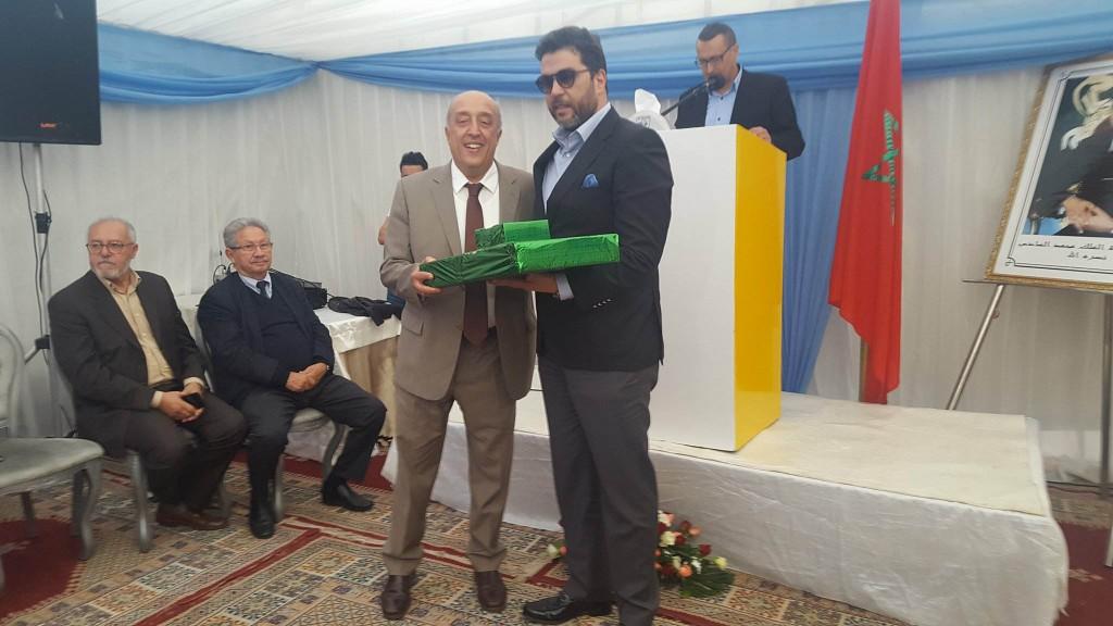 """مديرية الضرائب تكرم المدير الجهوي السابق """"علي عبد المالك"""" بحضور الجهوي الجديد"""" سعيد أوشكور """""""