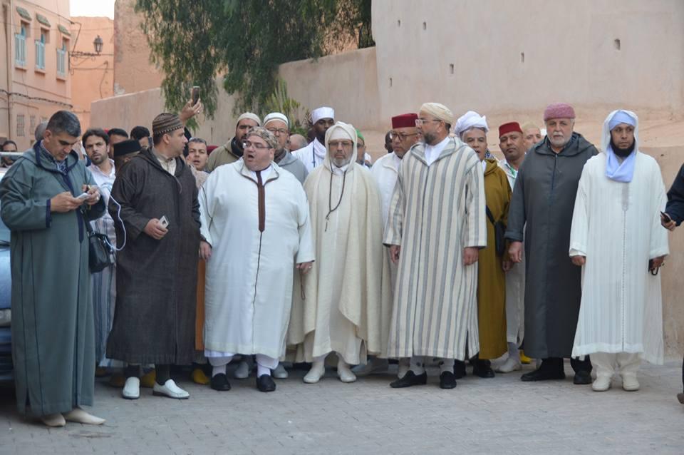 افتتاح الملتقى الرابع للفكر الصوفي عند الشيخ ماء العينين بأكادير