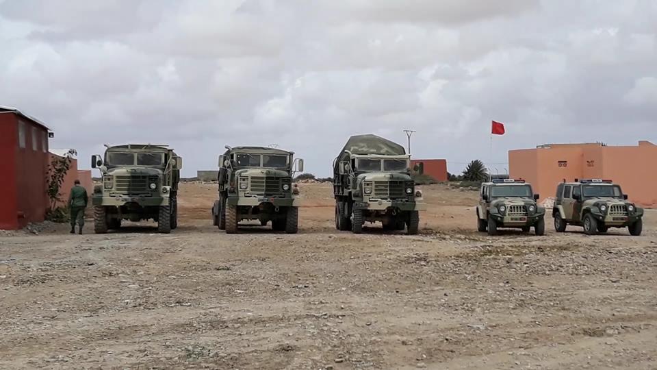 القوات المسلحة الملكية تقيم مستشفى عسكري ميداني بجماعة بونعمان